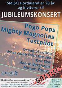 SMISO Jubileumskonsert 2017 Plakat 200px